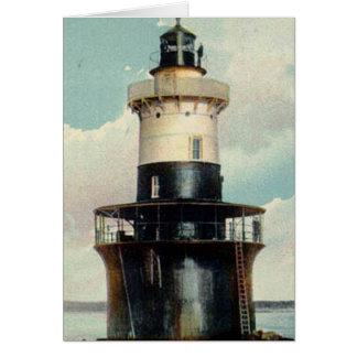 Greens Ledge Lighthouse Card
