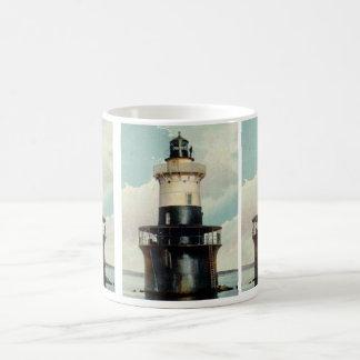 Greens Ledge Lighthouse Coffee Mug