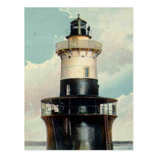 Greens Ledge Lighthouse Postcard