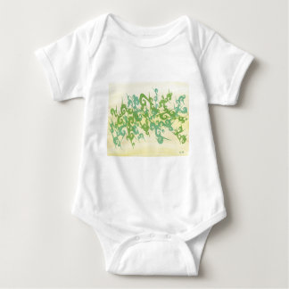 Greens Mingle Baby Bodysuit