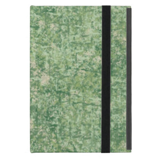 Greens Textured by Shirley Taylor iPad Mini Cases