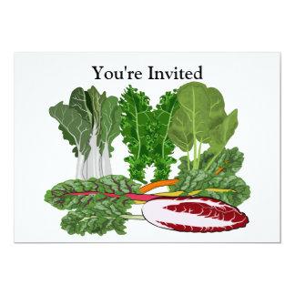 Greens Vegetarian Vegan Vegetable Lover Card