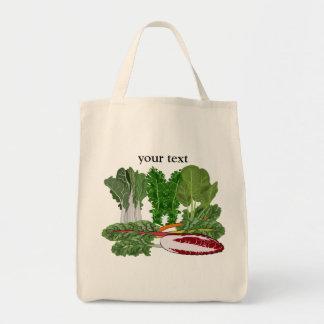 Greens Veggie Lovers Vegetables Grocery Tote Bag