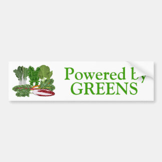 Greens Veggie Lovers Vegetables Bumper Sticker