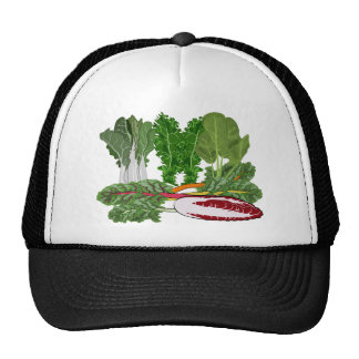 Greens Veggie Lovers Vegetables Trucker Hat