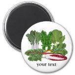 Greens Veggie Lovers Vegetables Refrigerator Magnet