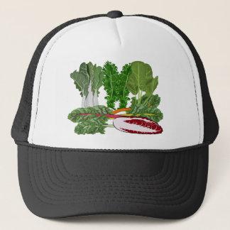 Greens Veggie Lovers Vegetables Trucker Hat