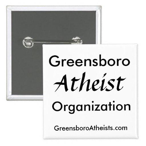 Greensboro, Atheist, Organization, GreensboroAt... Button