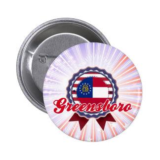 Greensboro, GA Pinback Button