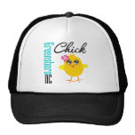 Greensboro NC Chick Trucker Hat