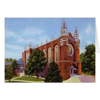 Greensboro North Carolina First Presbyterian Churc Greeting Card