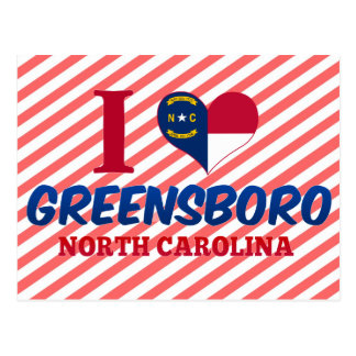 Greensboro, North Carolina Postcard