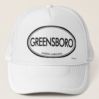 Greensboro, North Carolina Trucker Hat