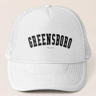 Greensboro Trucker Hat
