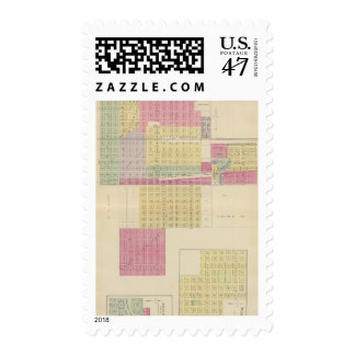 Greensburg, Wakefield, Kansas Sello Postal