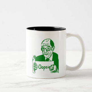¡greenspan - oopsie! taza