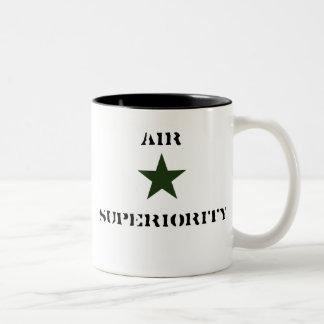 greenstar, AIR, SUPERIORITY Two-Tone Coffee Mug