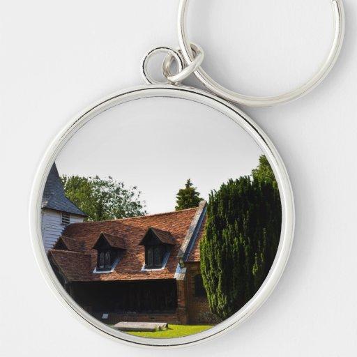 Greensted Church Keychain