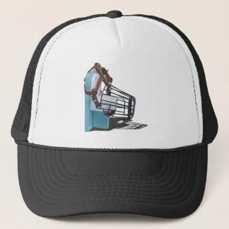 GreenToiletMuzzle080514 copy.png Trucker Hat