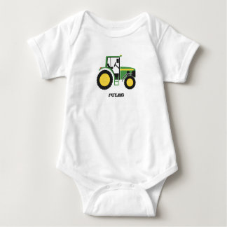 GreenTractor design Apparel Baby Bodysuit