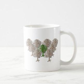 GreenTreeInForest012511 Coffee Mug