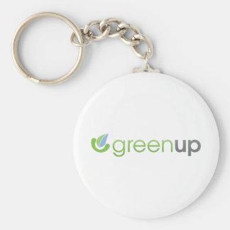 GreenUp Horizontal Logo Keychain