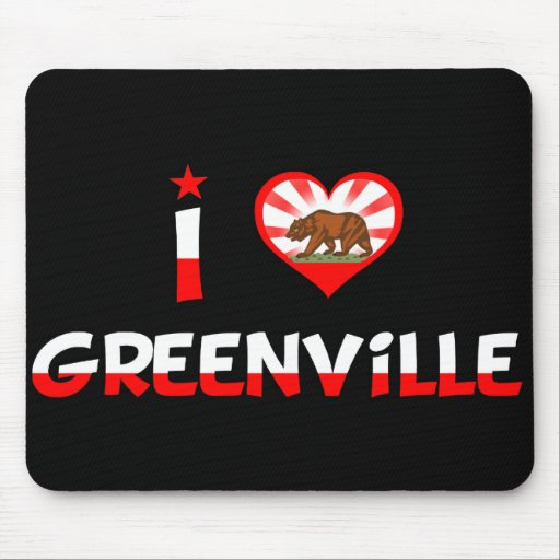 Greenville, CA Mouse Pad
