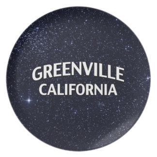 Greenville California Melamine Plate