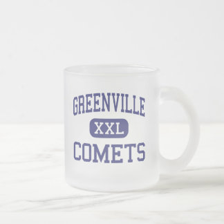 Greenville - Comets - High - Greenville Illinois Coffee Mugs