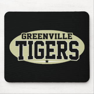Greenville High School; Tigers Mouse Pad