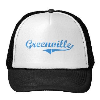 Greenville Maine Classic Design Trucker Hats