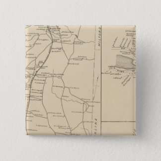 Greenville & Mason, Hillsborough County Pinback Button