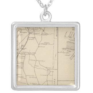 Greenville & Mason, Hillsborough County Silver Plated Necklace