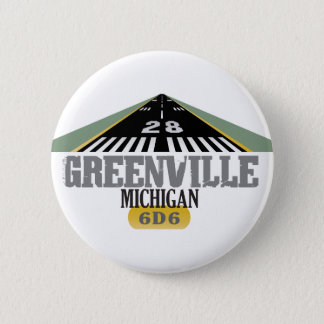 Greenville MI - Airport Runway Button