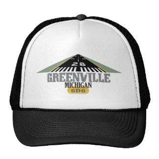 Greenville MI - Pista del aeropuerto Gorro