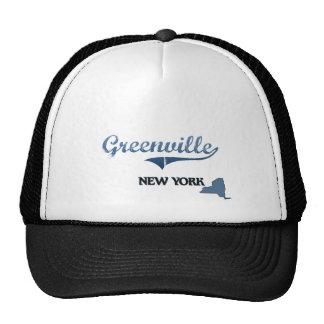 Greenville New York City Classic Mesh Hats