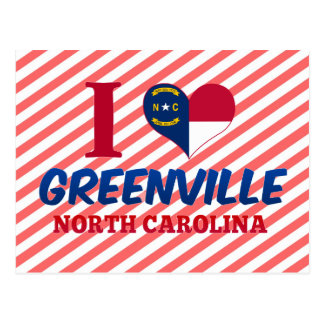 Greenville, North Carolina Postcard