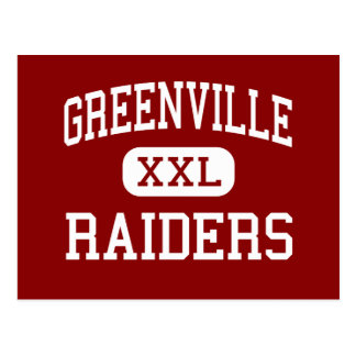 Greenville - Raiders - High - Greenville Postcard