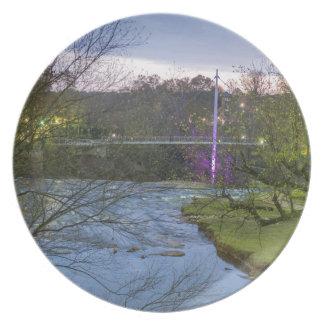 greenville south carolina liberty bridge plate
