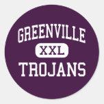 Greenville - Trojans - High - Greenville Sticker