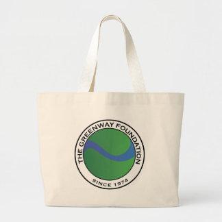 Greenway Foundation Logo Large Tote Bag