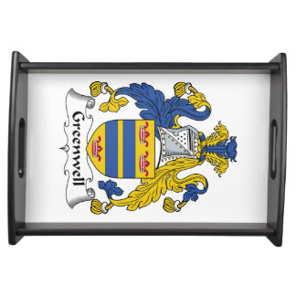 Greenwell Family Crest Food Tray