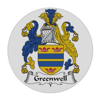 Greenwell Family Crest Poker Chips Set