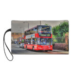 Greenwich al autobús de dos plantas rojo Reino