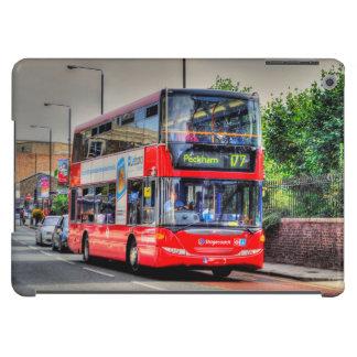 Greenwich al autobús de dos plantas rojo Reino Funda Para iPad Air