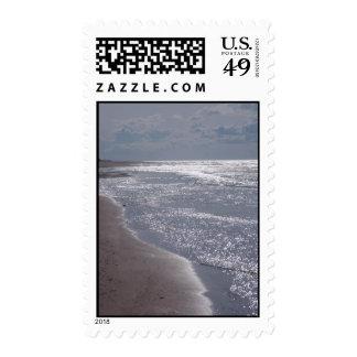 Greenwich Beach Postage Stamp