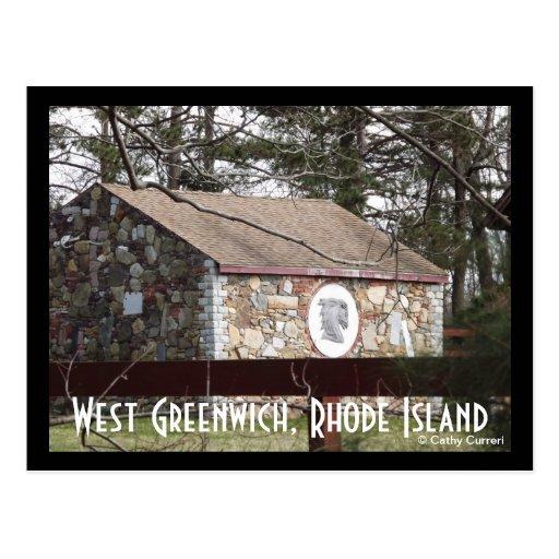 Greenwich del oeste, Rhode Island Postal