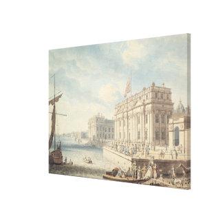 Greenwich Hospital w c Canvas Print