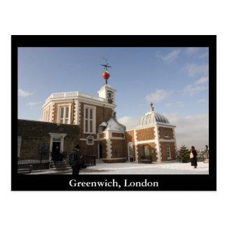 Greenwich Londres Tarjeta Postal