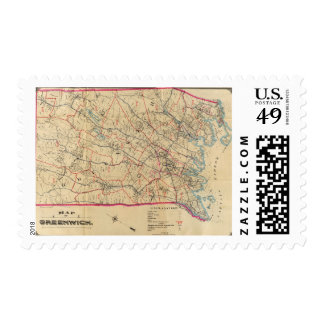 Greenwich, New York Stamp